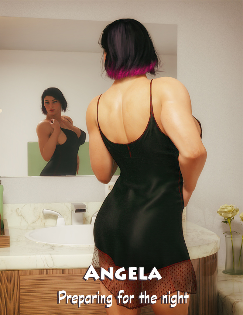 Angela - Preparing for the night - Teaser