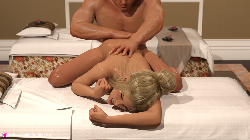 A Torrid Tale of lust in the Massage Spa