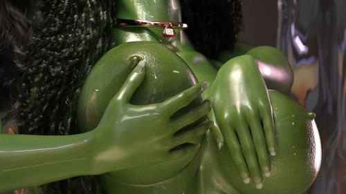 Green Boobies