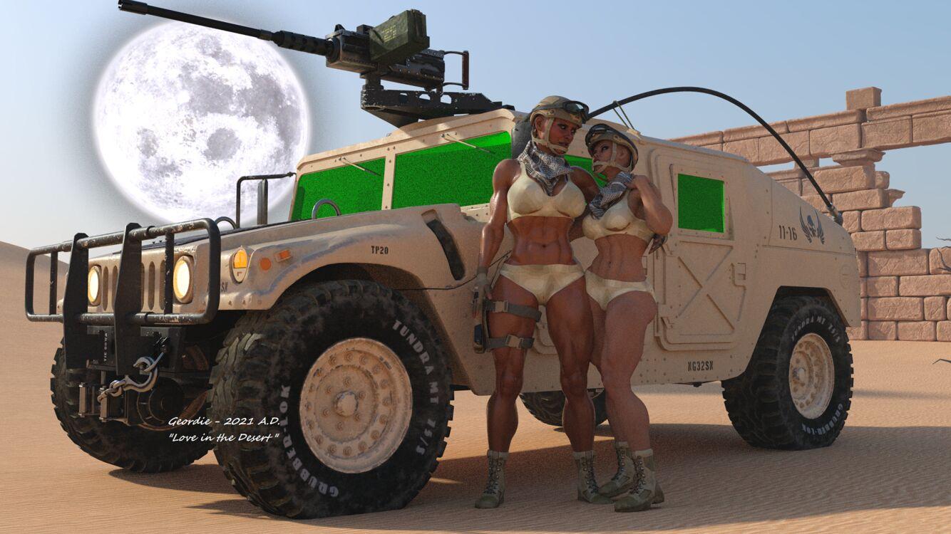 Love in the Desert 1B