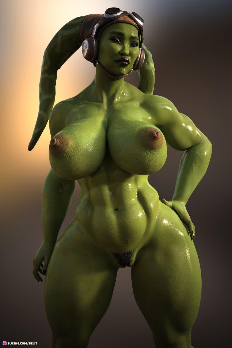 ♡ Hera Syndulla - Big and Thic ♡