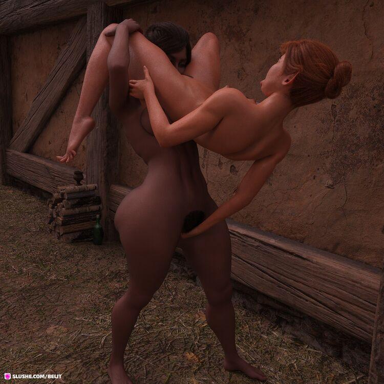 ♡ B.E.M - Sajaa the Elf & Kymara in Action 3 ♡