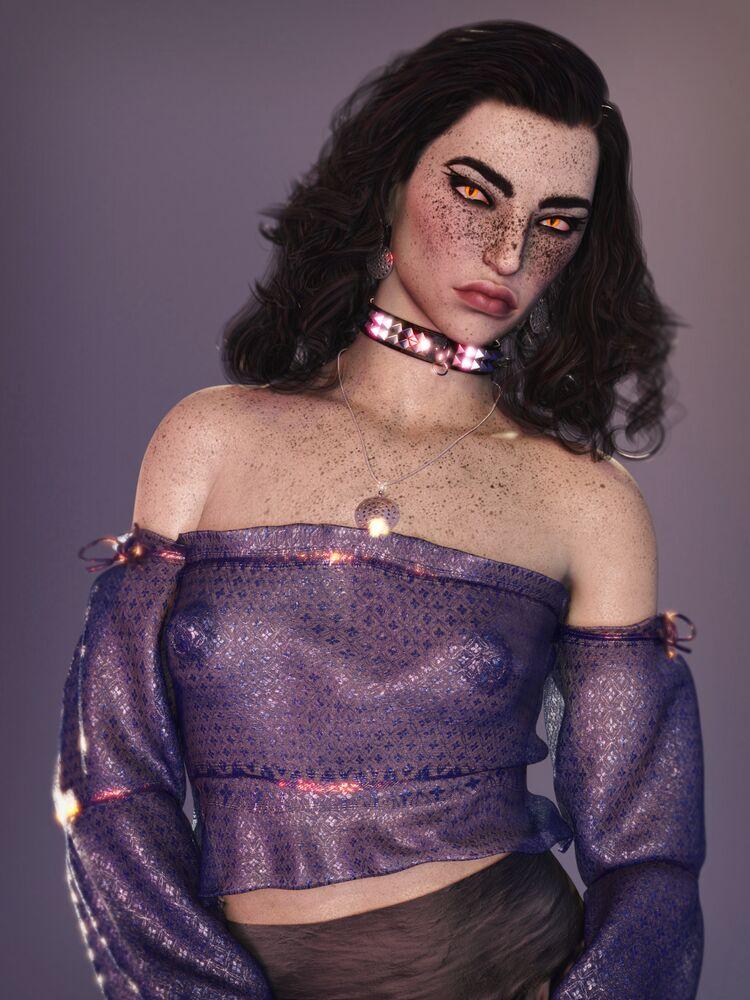 Lisette Does Glamour
