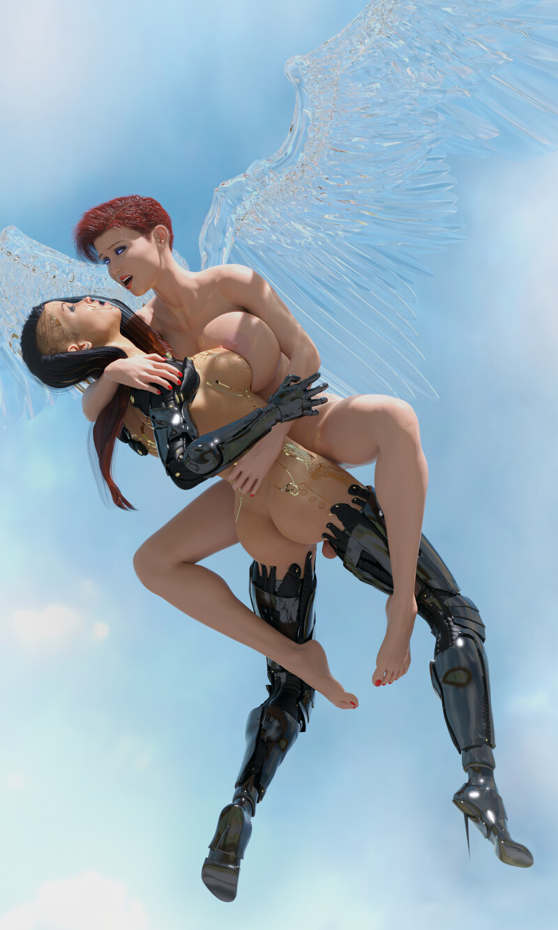 Clare & Hilda, Ride of The Valkyrie (Angels & Demons Contest)