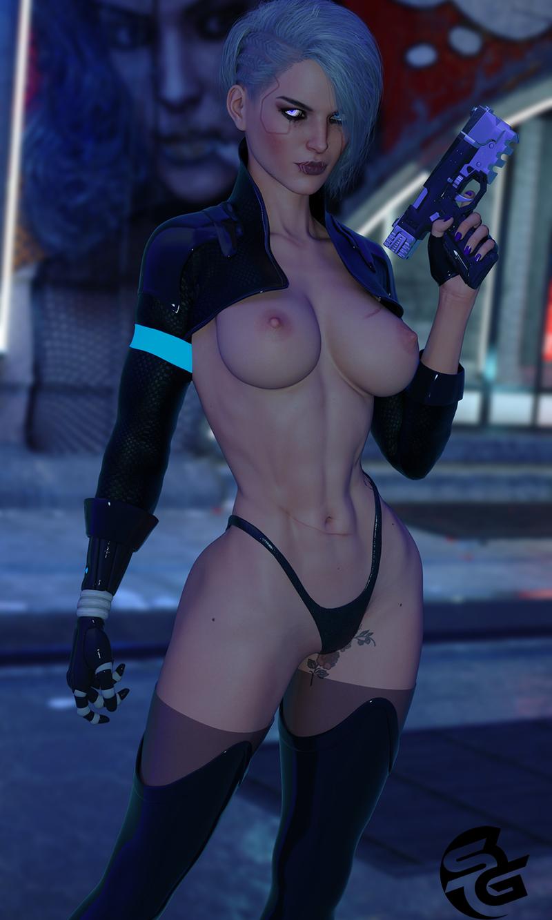 Cyberpunk Ciri