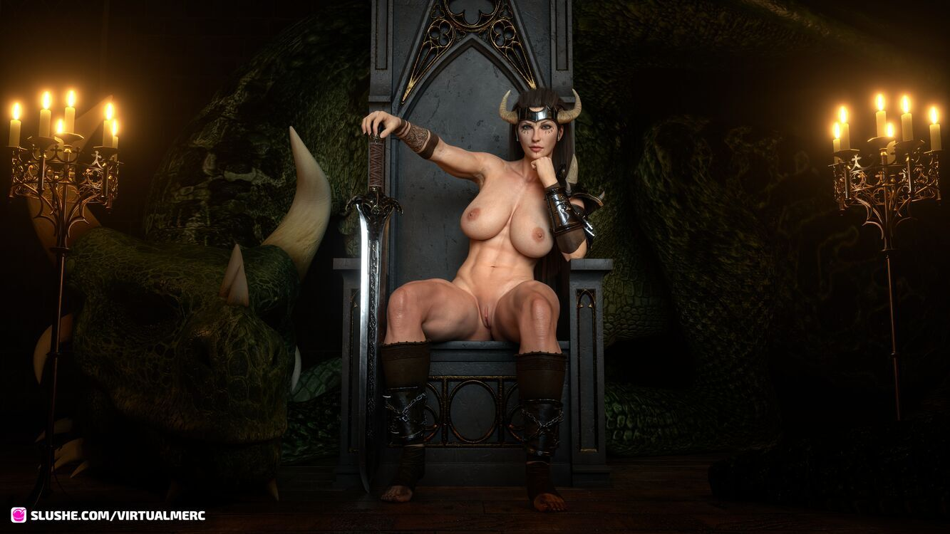 Dragon Queen - Throne