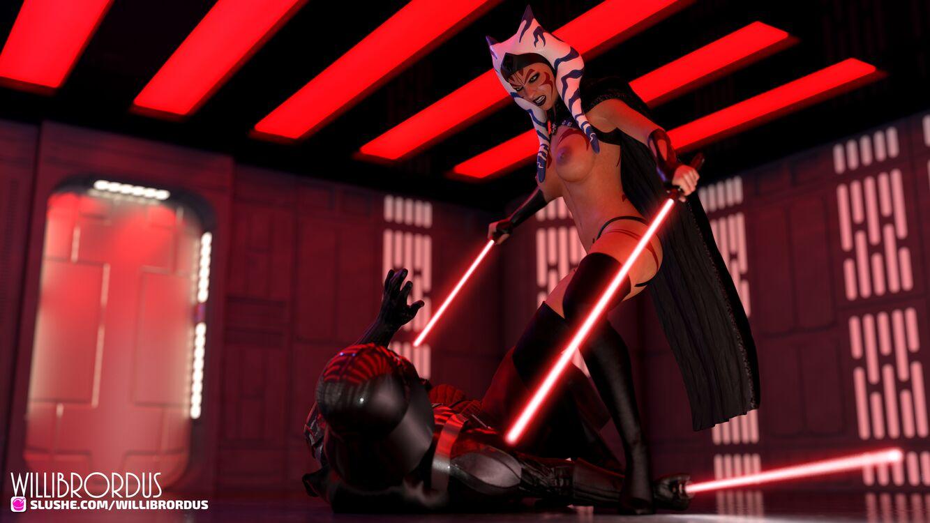Darth Ahsoka Taking over Vader's position.
