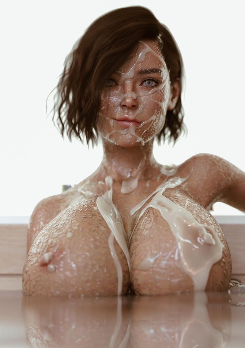 Messy Bath