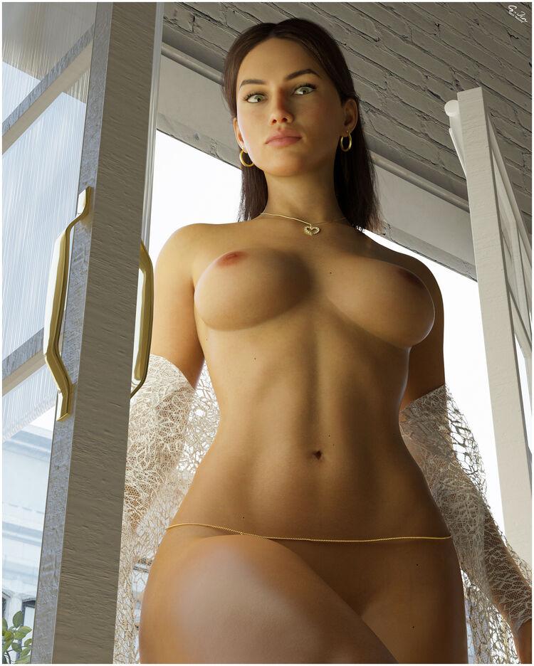 Balcony pose
