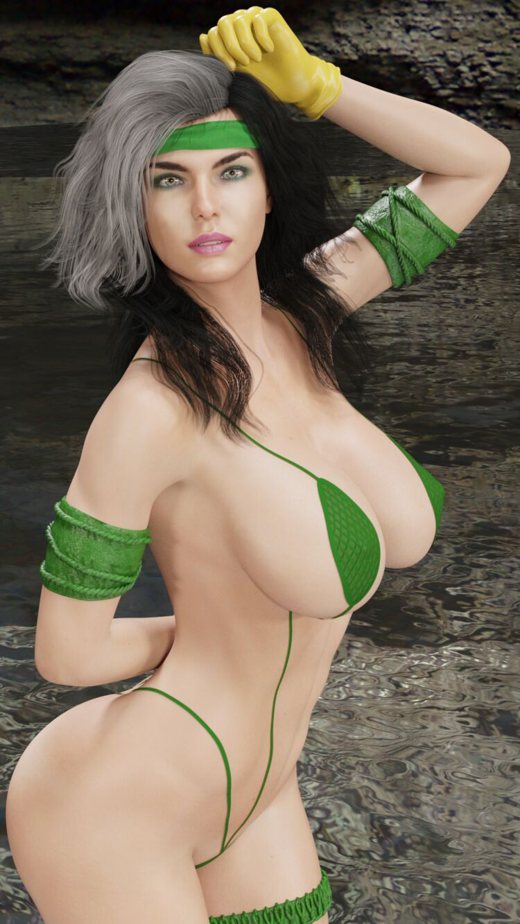 Rogue Savage Land Bikini 1