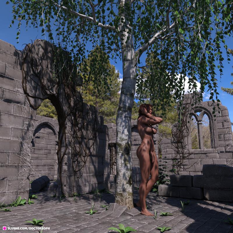 Ruins - surprised