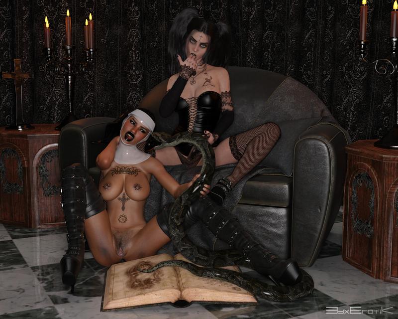 Aisling & Chandra Goth Encounter