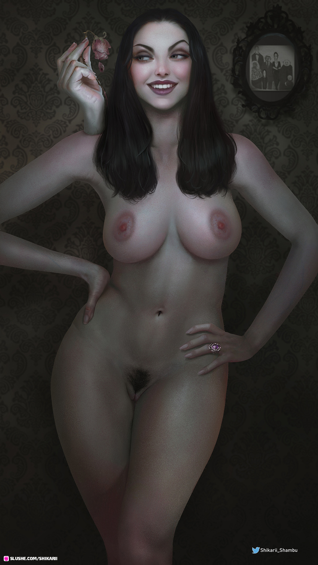 Morticia Addams (Nude Only)