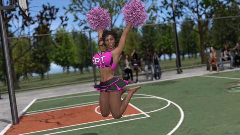 Belinda Cheerleader