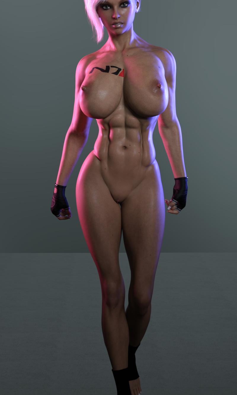 Kiera Adkins, N7 Biotic Commando WIP