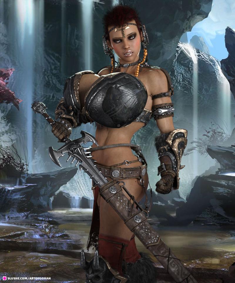 Avarel Redleaf, Elven Fighter