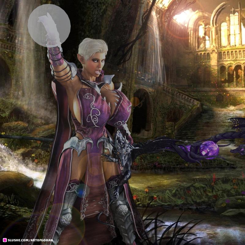 Farendel Shy'lel'taren, Elven Wizard