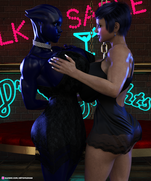 Xotica and Niseen having some alone time