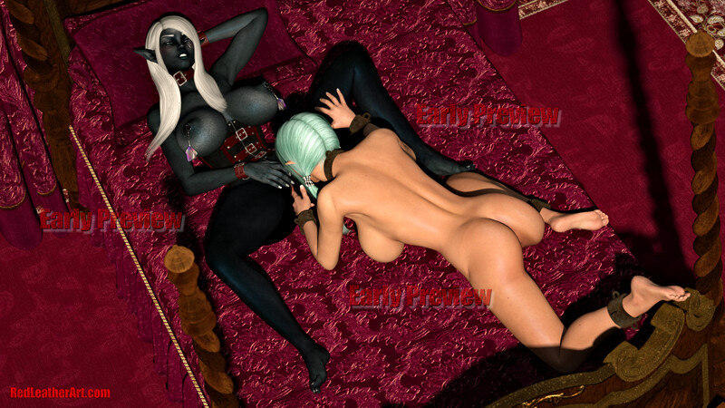 RLA New game lesbian event scene early preview!