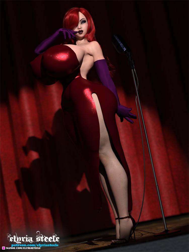 Commission - Jessica Rabbit