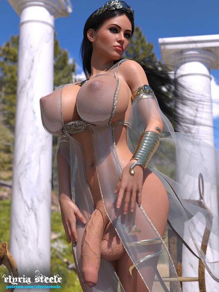 Goddess Hera (futa)