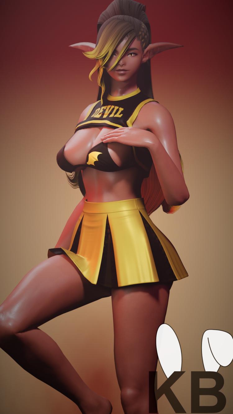 Cheerleader Kay