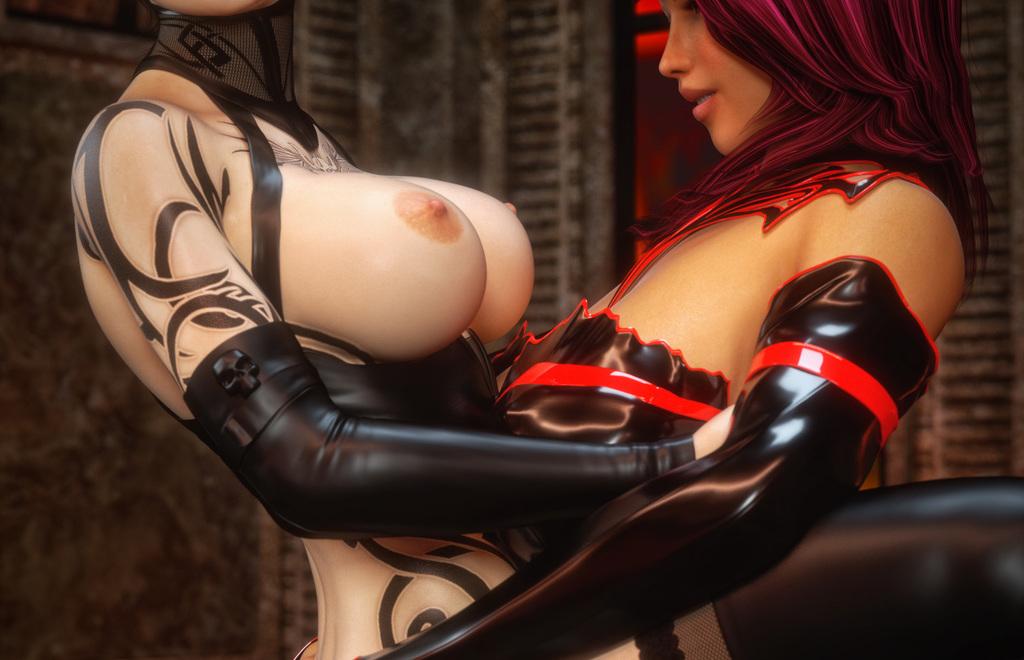 Evil Lana & Vampire Zoey