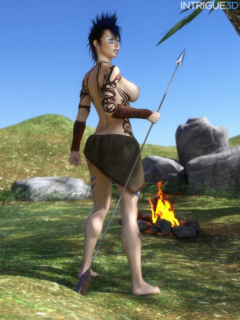 Cavegirl Zoey