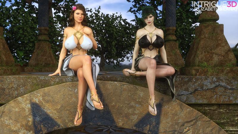 Goddesses Elizabeth & Lana