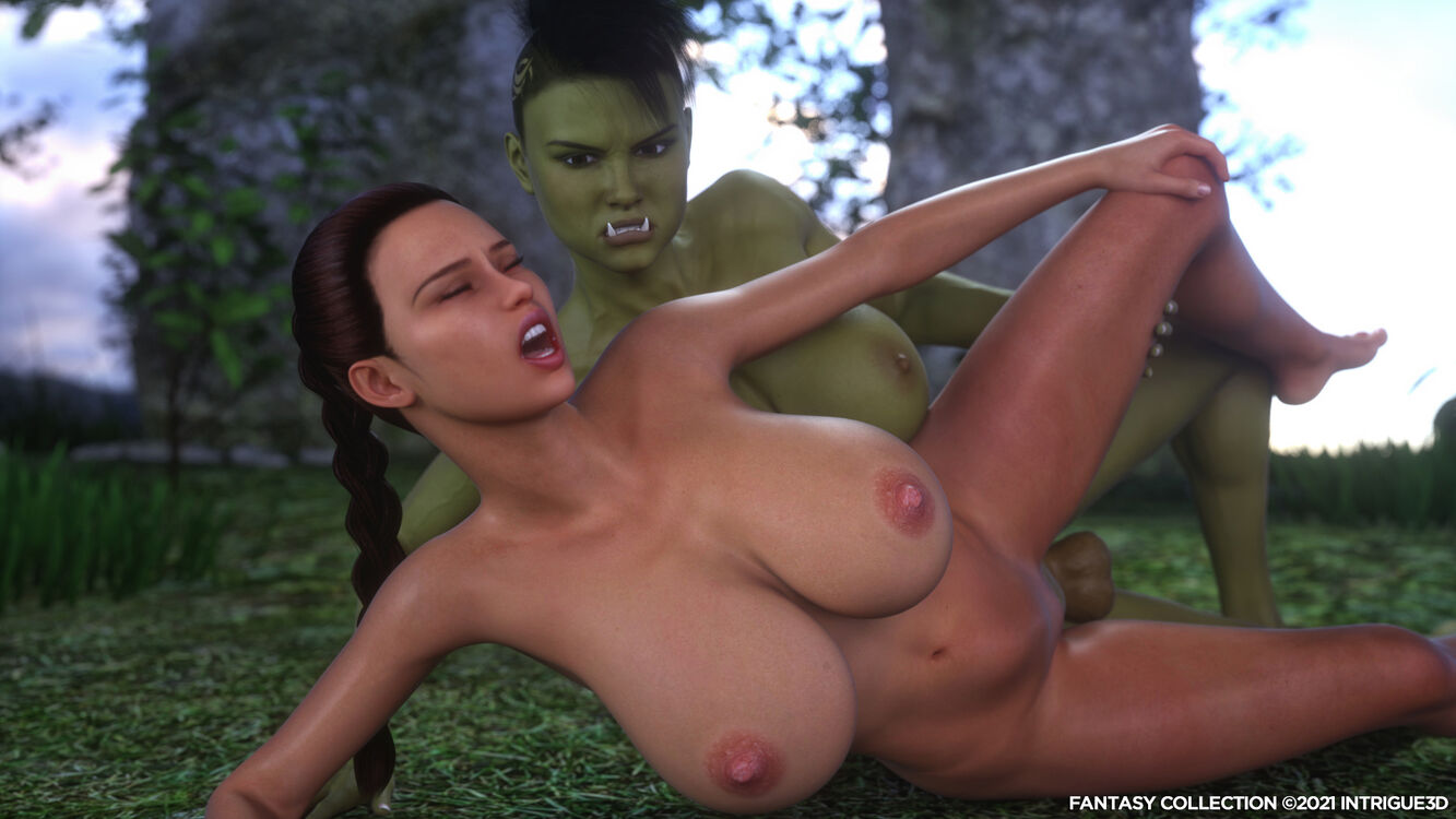 Krissy Vs The Orc (Fantasy Collection Sample)