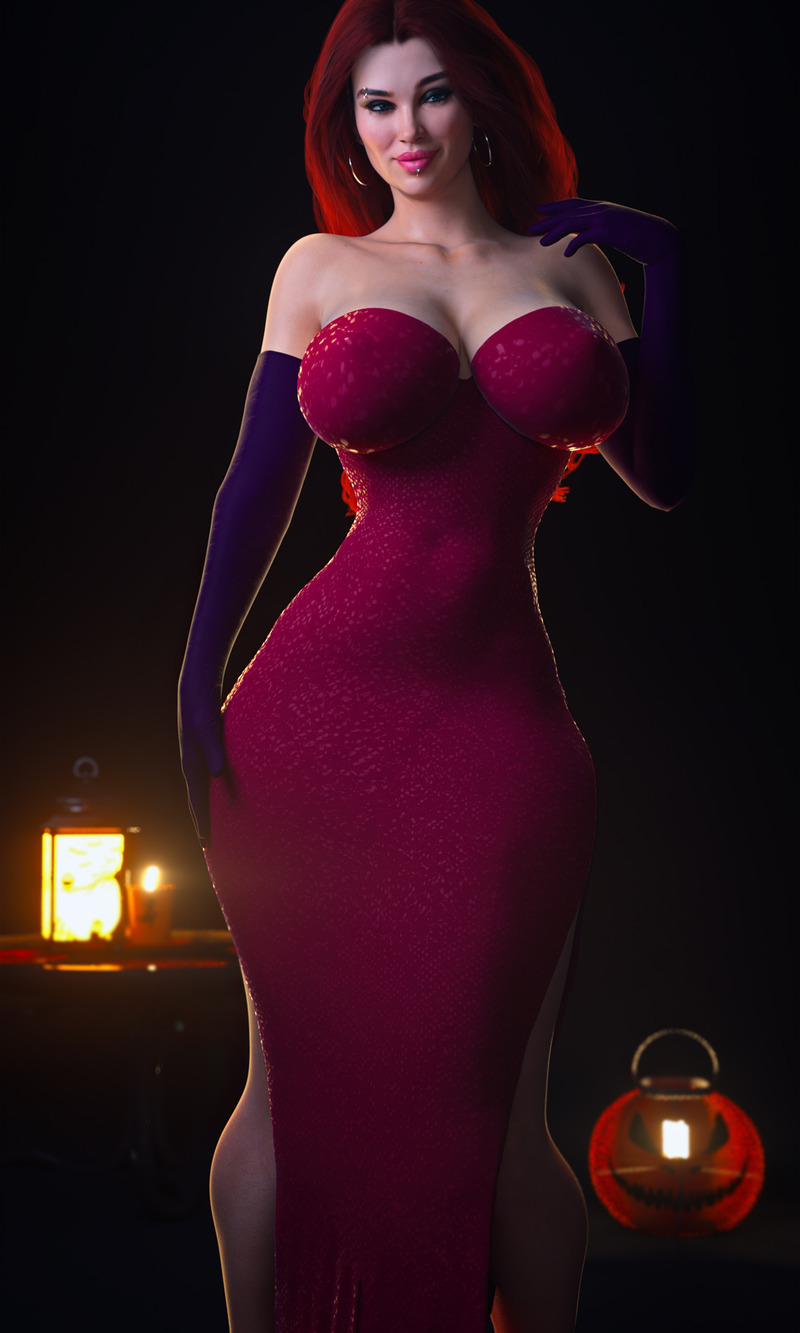 Kendra Jessica Rabbit Cosplay