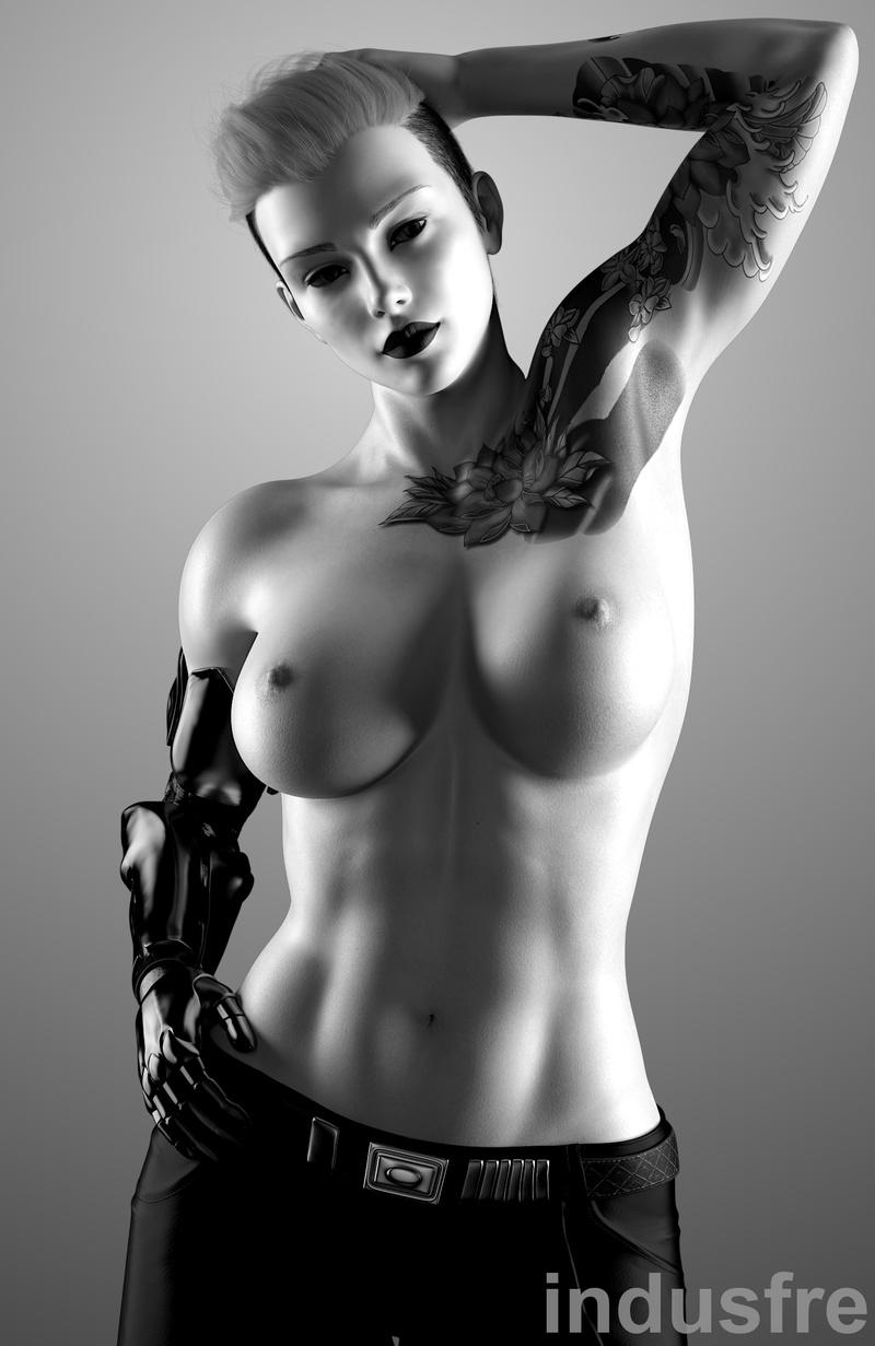 Vika, Topless