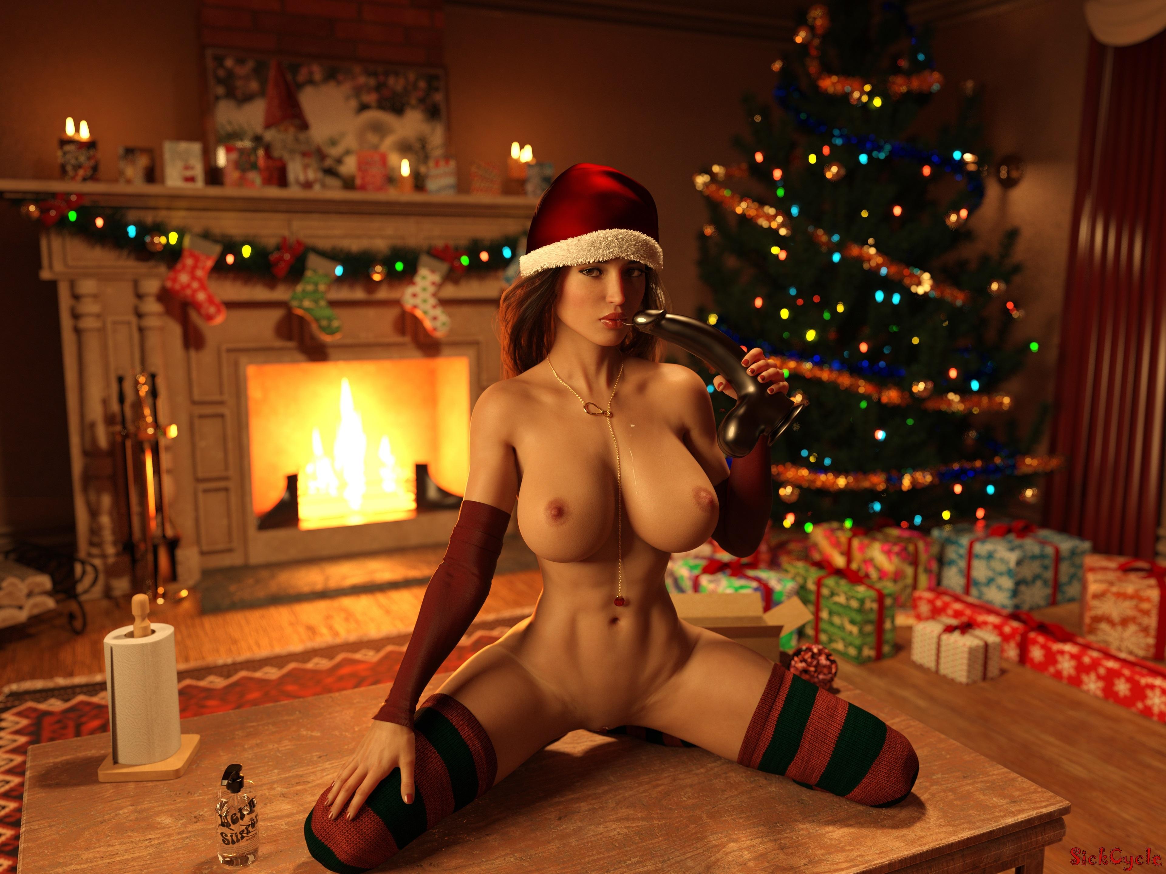 Lara Croft XMAS gift by SickCycle