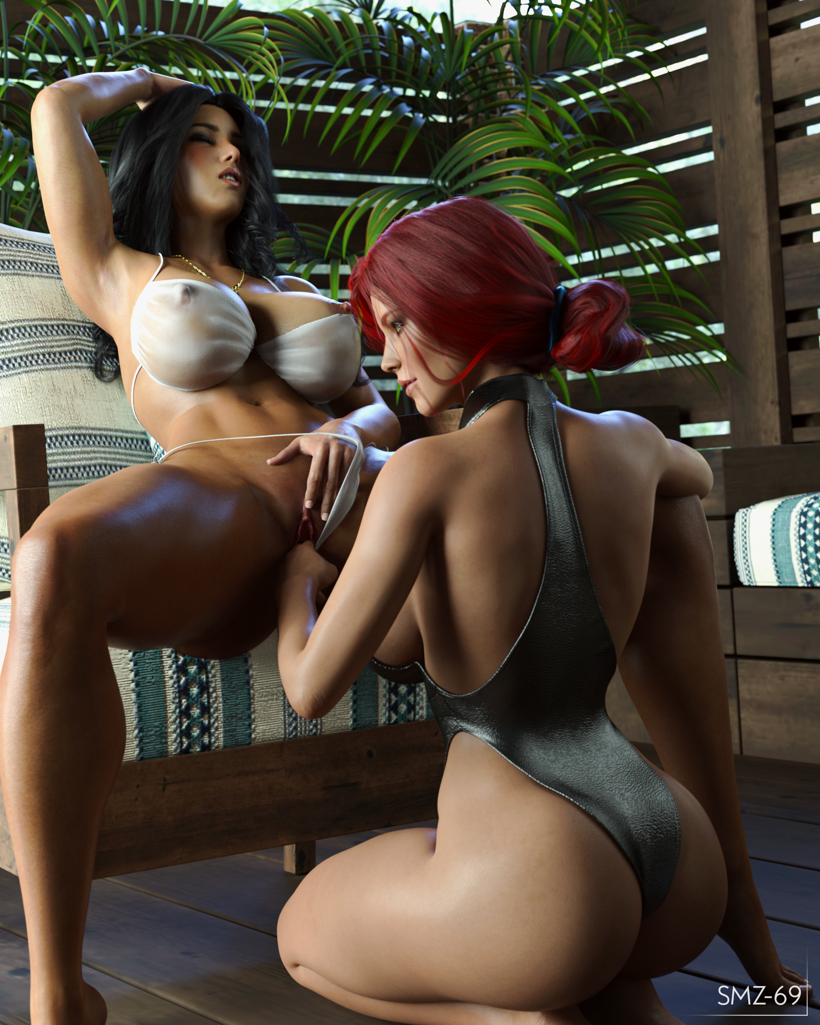 Brecca & Triss - You like to watch?