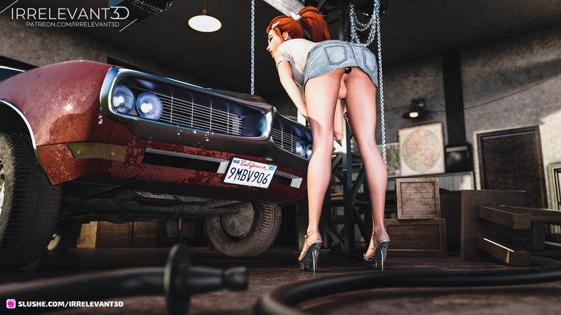 Brigitte likes your car