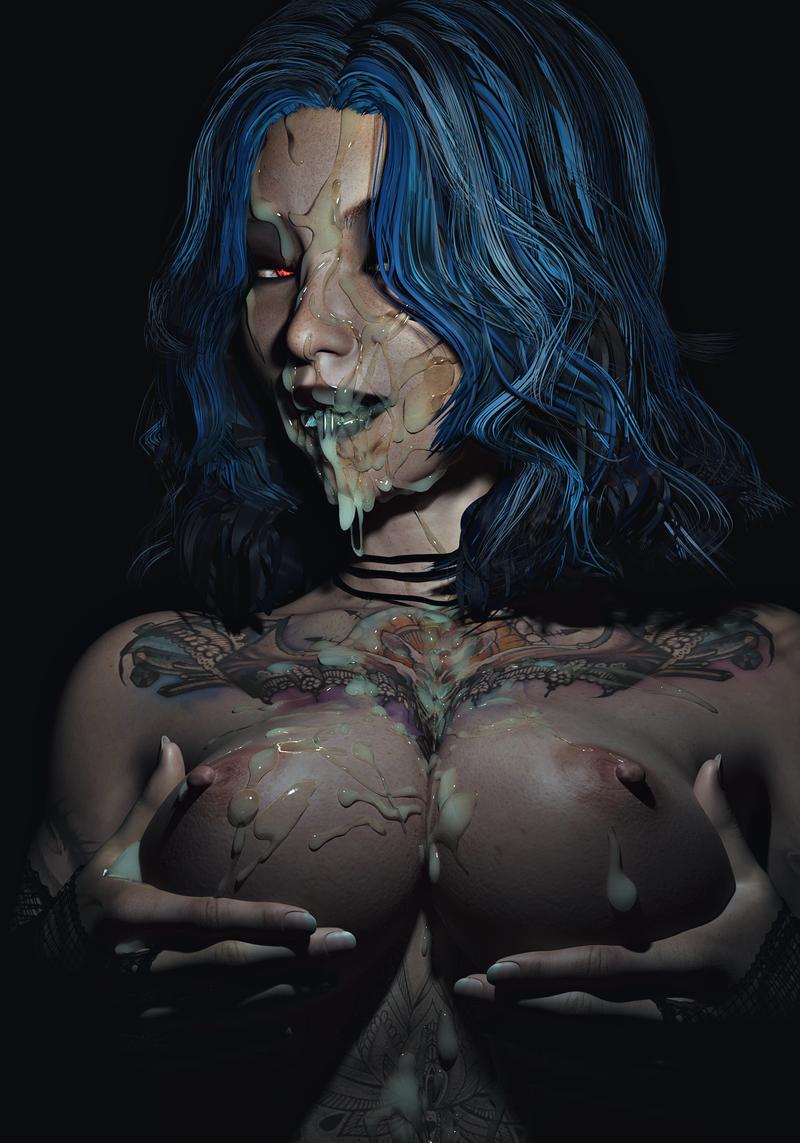Mary - Splattered