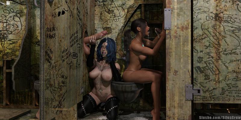 Mary & Sophia - Gloryhole set (3 pics)