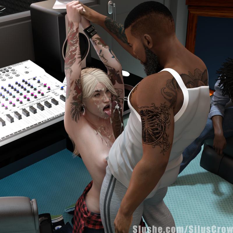 Erin - Blowjob at the studio