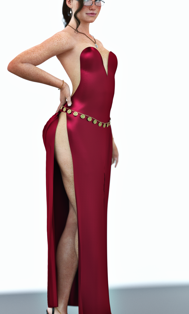 Illania - Jessica Rabbit dress