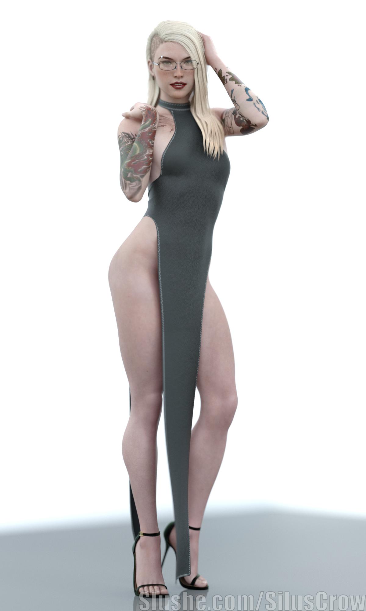Erin - Backless Dress