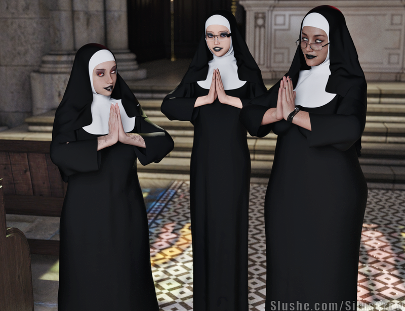 Amanda, Ingrid, & Mary - Sacrilegious