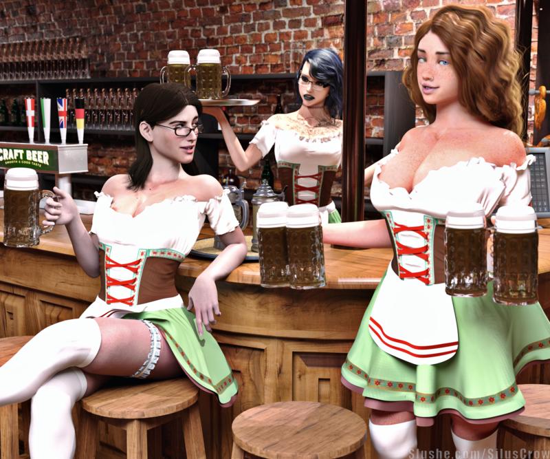Beth, Candice, & Ingrid - Oktoberfest