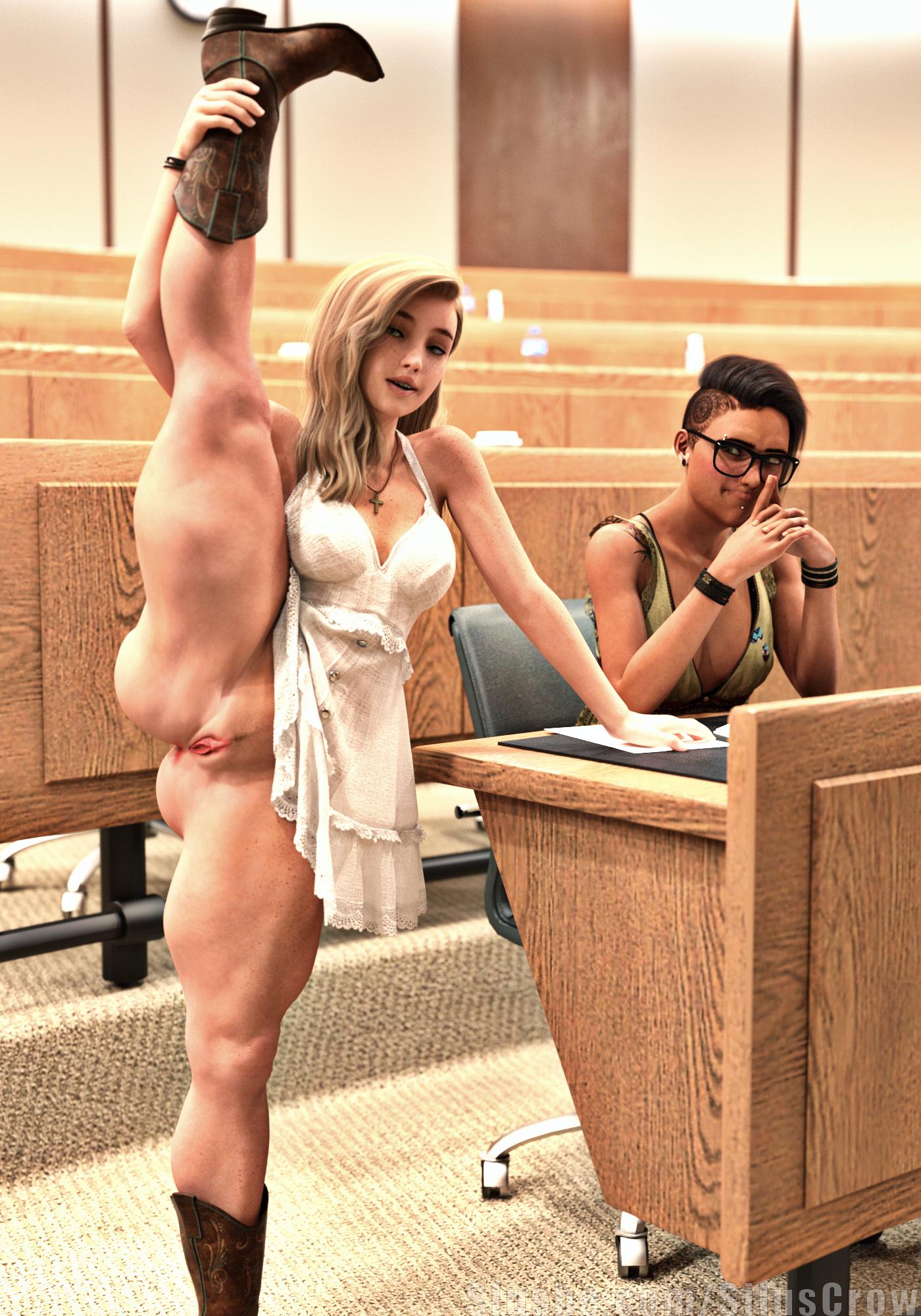 Charlotte & Robyn - A Leg Up