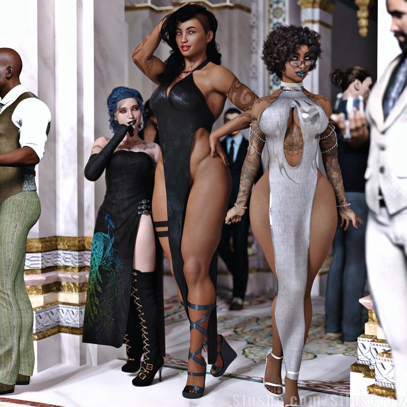 Makayla, Mary, & Talia - Gala dresses
