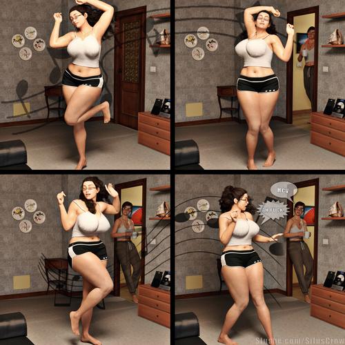 Illania & Michelle - Booty Dance