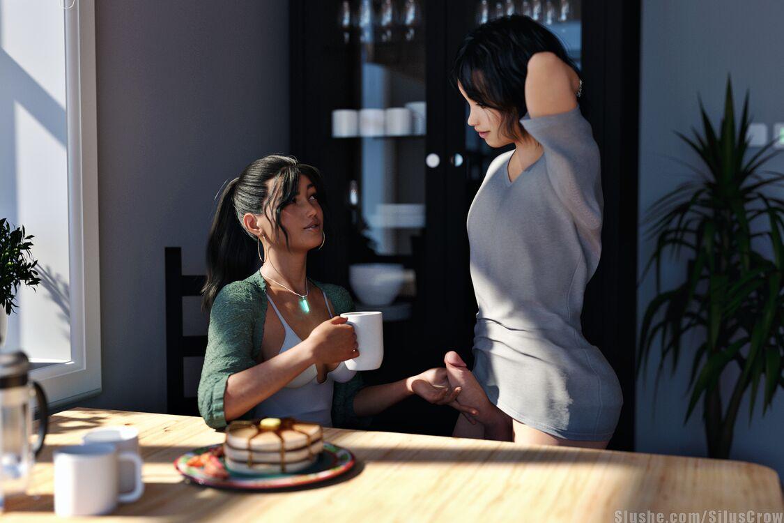 Ash & Sophia - Breakfast