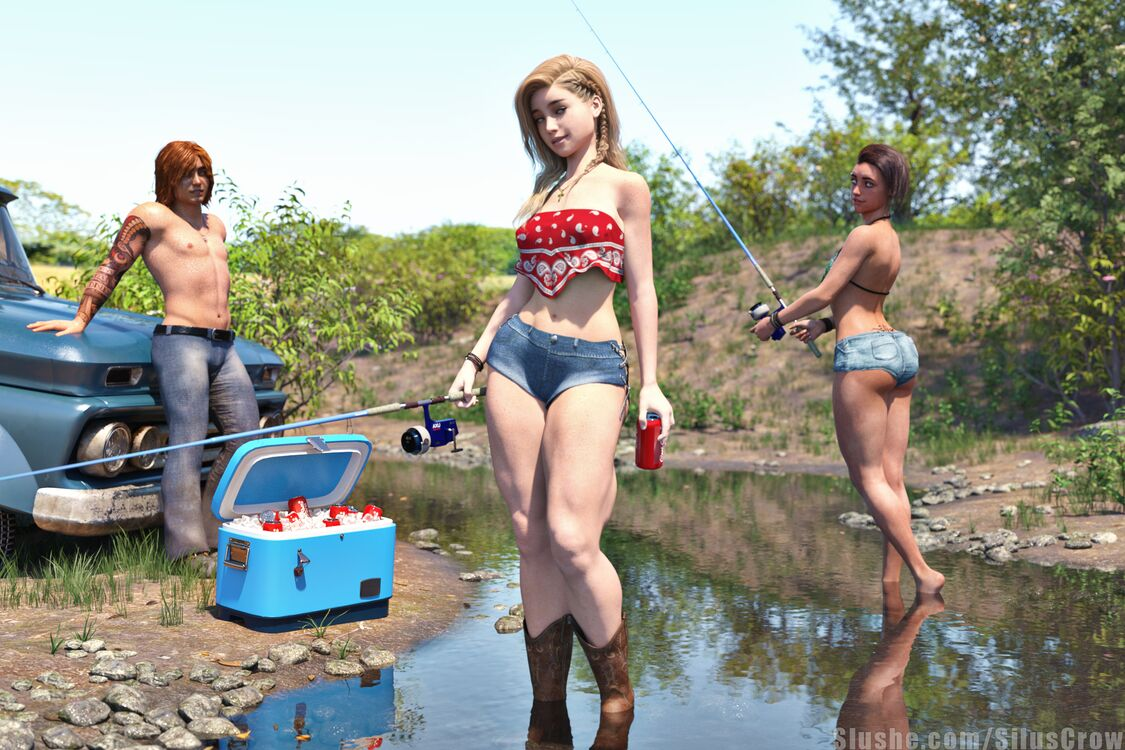 Charlotte, Colin, & Robyn - Fishin' with Friends