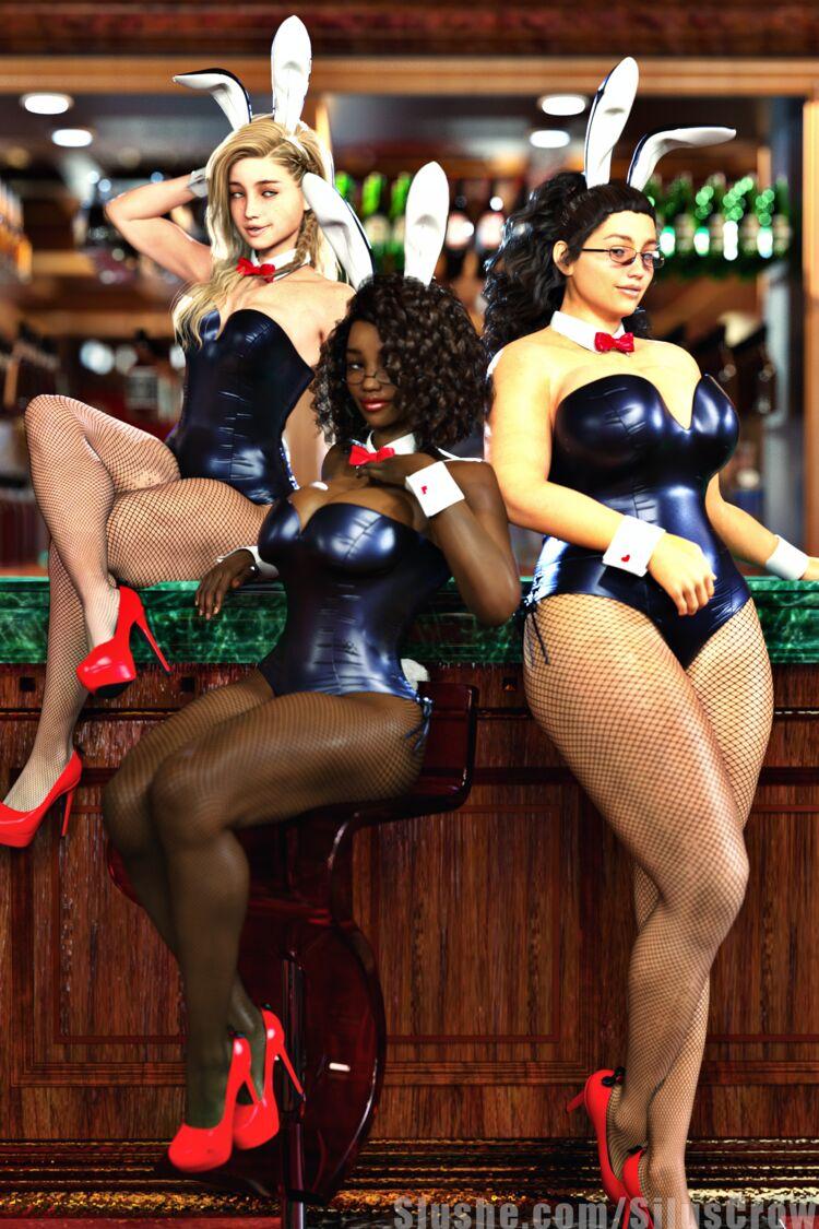 Charlotte, Makayla, Michelle, Talia, Tanisha - Bunny Babes