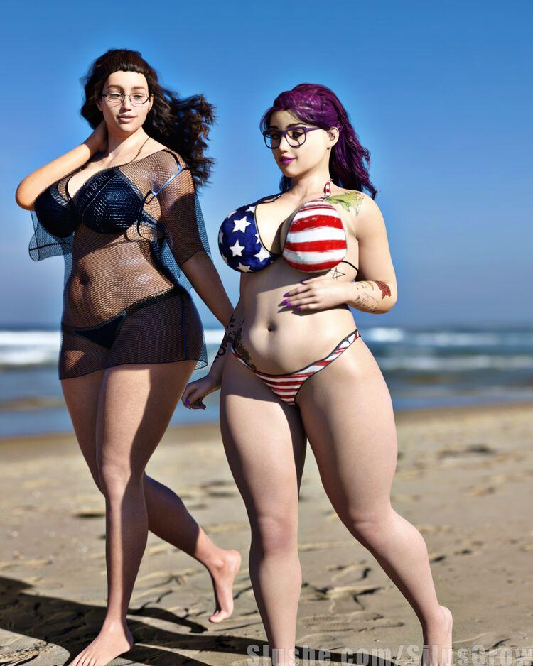 Karen & Michelle - Summer Fun