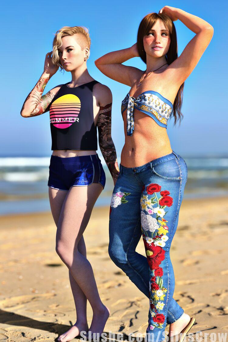 Erin & Illania - Summer Fun
